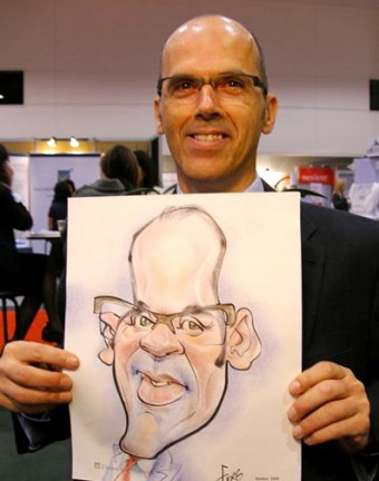Montréal Party Caricature Artist