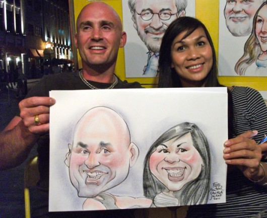 Montréal Party Caricature Artists