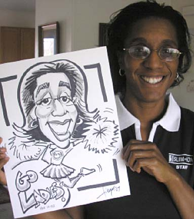 Colorado Springs Party Caricaturist