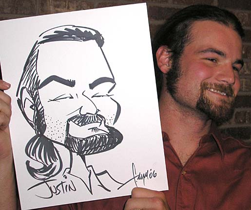 Colorado Springs Party Caricature Artist