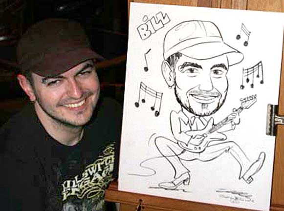 Baltimore Party Caricature Artist