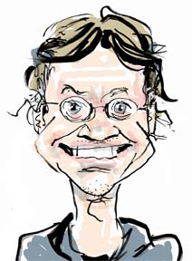 Party Caricature Artist Gerry