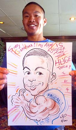 San Francisco Party Caricature Artist