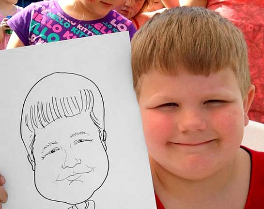 Charleston Party Caricature Artist
