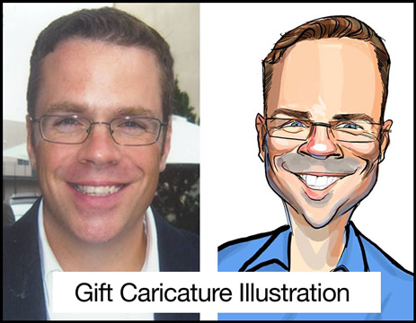 Los Angeles Gift Caricaturist