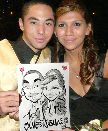 Los Angeles Party Caricaturist