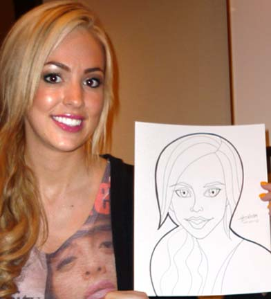 Los Angeles Party Caricature Artists