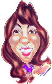 Party Caricature Artist Irene