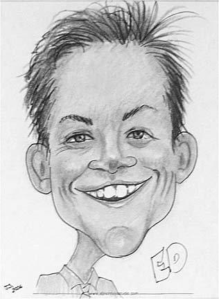Waterville Party Caricatures