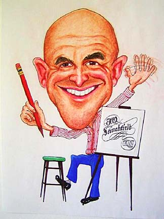 Party Caricature Artist James