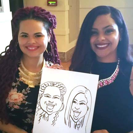 Little Rock Party Caricature Artist
