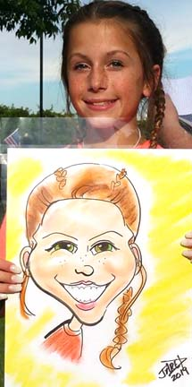 Little Rock Party Caricatures