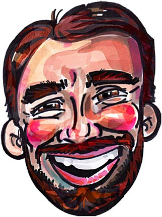 Party Caricature Artist Jason