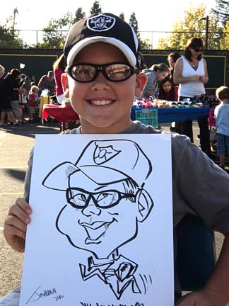 Oakland Party Caricaturist