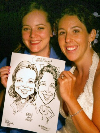 Reno Party Caricature Artist