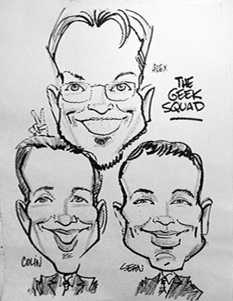 Reno Party Caricatures