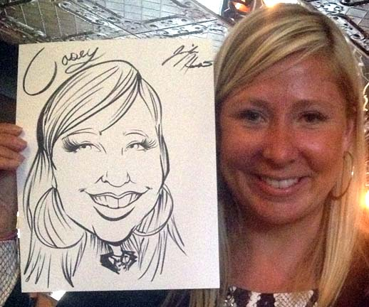 Toronto Party Caricatures