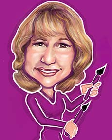 Party Caricature Artist Joan