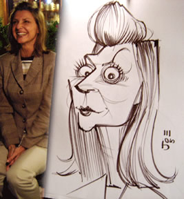 Shreveport Party Caricaturist
