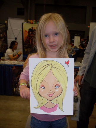 Austin Party Caricature Artists