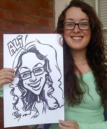 Little Rock Party Caricaturist