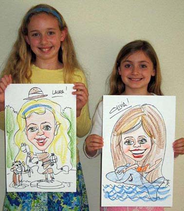 Little Rock Party Caricature Artists