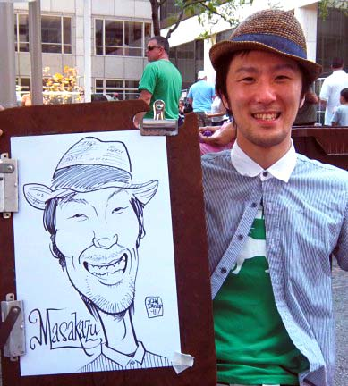Columbus Party Caricature Artist