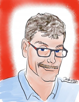 Digital Caricature Artist John