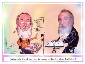Party Caricature Artist John