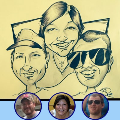 Kansas City Party Caricature Artists