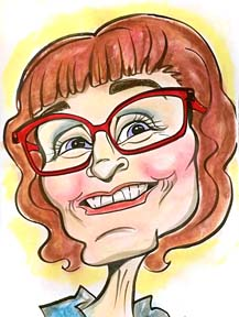 Party Caricature Artist Kathlynne