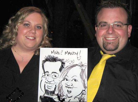 Calgary Party Caricatures
