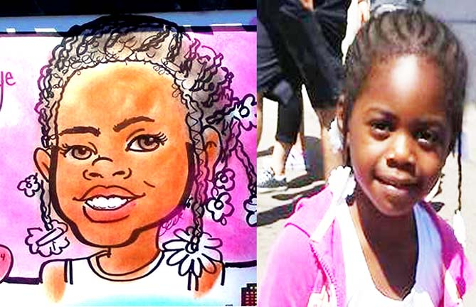 Toms River Party Caricatures