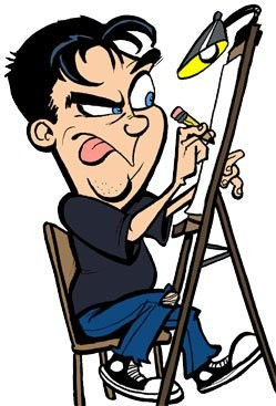 Party Caricature Artist Kenny