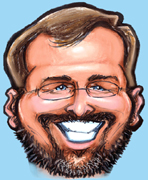 Gift Caricature Artist Kevin