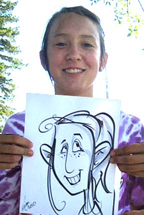 Des Moines Party Caricaturist