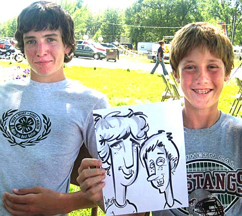 Des Moines Party Caricature Artist