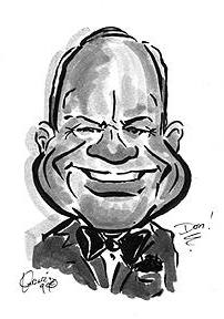 Lincoln Party Caricature Artist