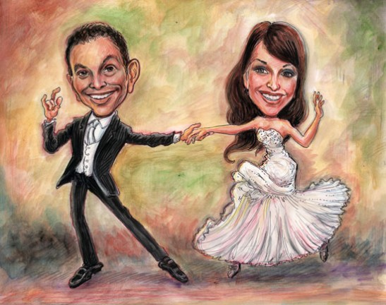 Gift Caricature Artists