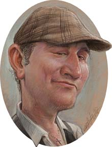 Digital Caricature Artist Lars-Erik