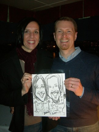 Seattle Party Caricature Artist