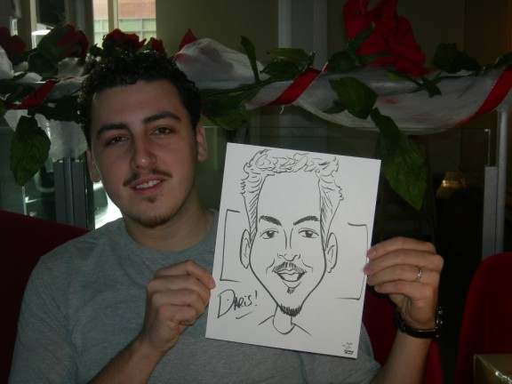 Seattle Party Caricatures