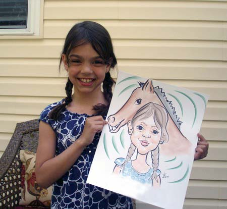 Central Long Island Party Caricaturist