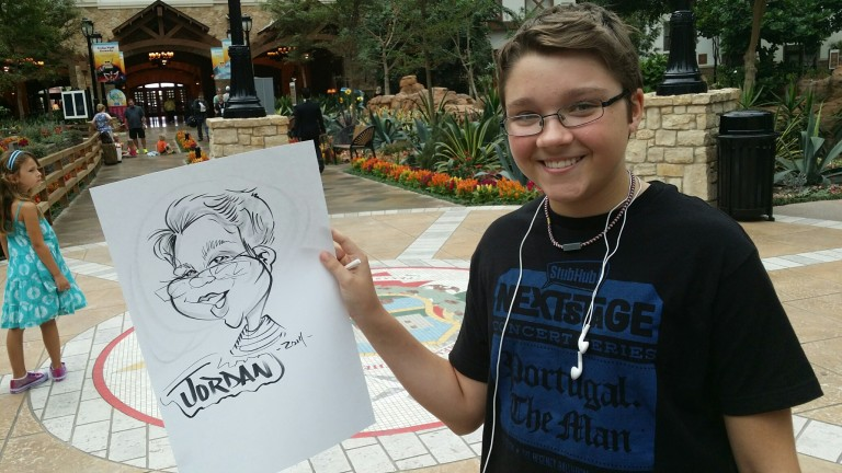 Dallas-Ft Worth Party Caricatures