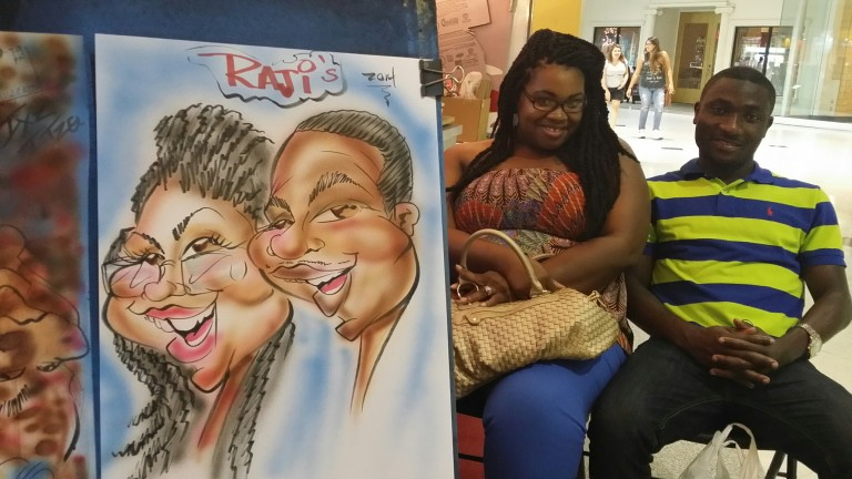 Dallas-Ft Worth Party Caricature Artists