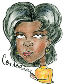 Party Caricature Artist Manuela
