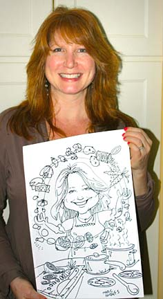 Burlington Party Caricaturist