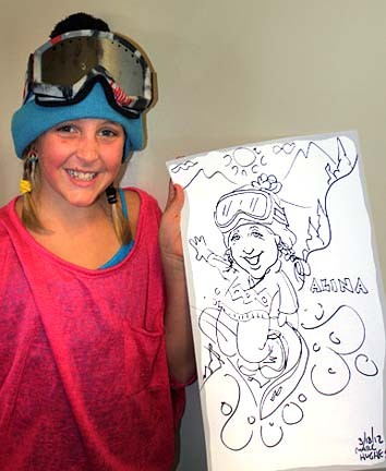 Burlington Party Caricature Artist