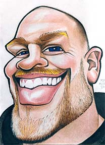 Party Caricature Artist Mark