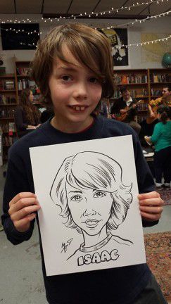 Tacoma Party Caricatures